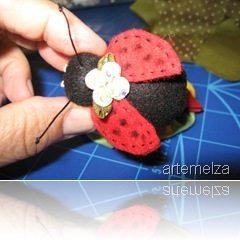 JUD artes: Joaninha amigurumi | 240x240