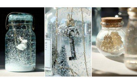 Como fazer bolas de neve de vidro - Artesanato Passo a Passo!