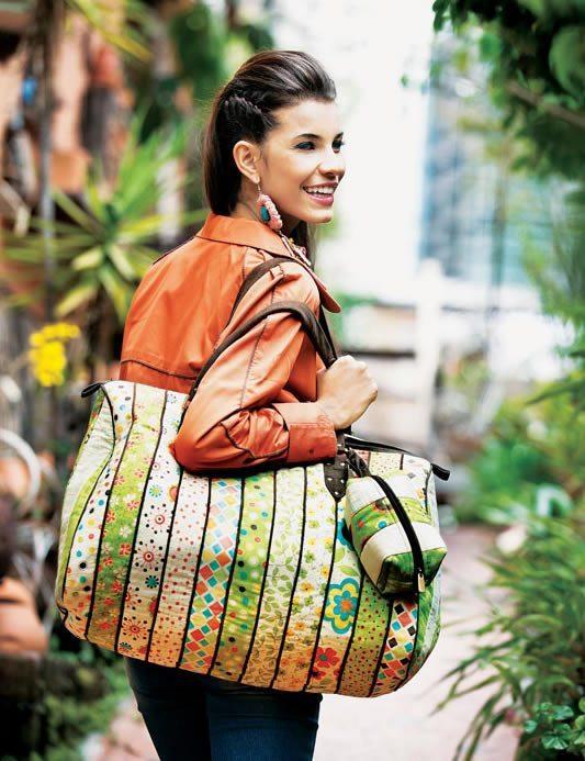 Bolsa De Viagem Em Tecido Passo A Passo : Como fazer bolsa de viagem em tecido artesanato passo a