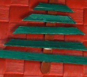 Passo a passo árvore de natal  (Foto: Divulgação).