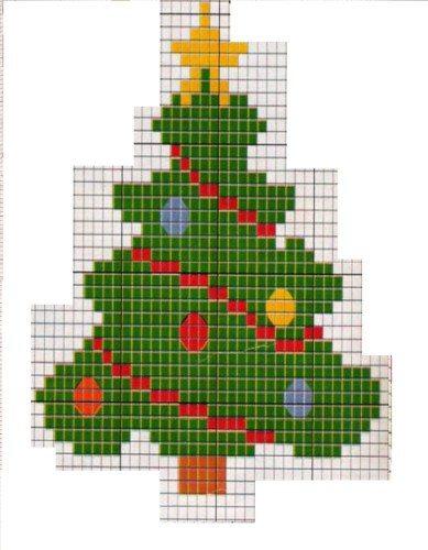 Gráfico mini árvore de natal (Foto: Divulgação)