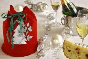 Enfeite para mesa do natal   (Foto: Divulgação).