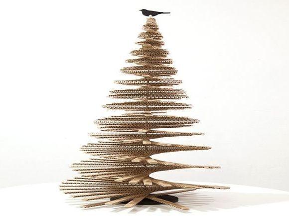 Como Fazer Uma Rvore De Natal De Caixa De Papel O Artesanato Passo A Passo