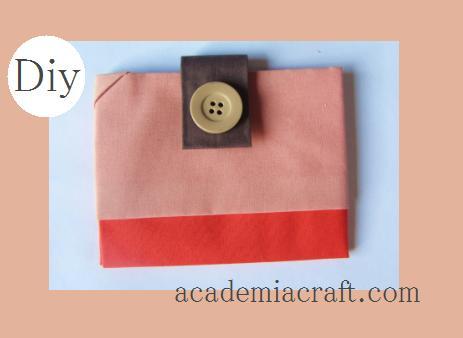 Passo a passo de carteira de tecido (Foto:Divulgação).