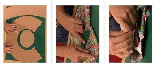 6203e894cd888 Chapéu de tecido - Como fazer passo a passo - Artesanato Passo a Passo!