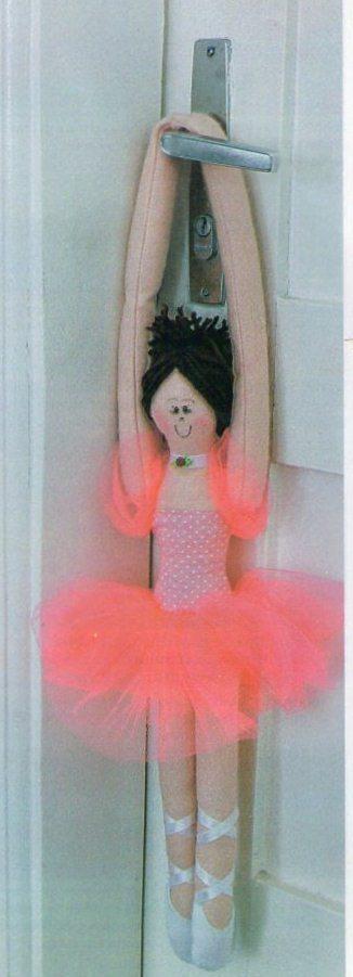 Bailarina para decorar portas (Foto:Divulgação)