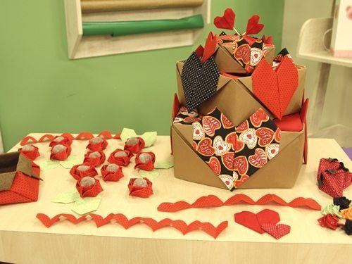 Como fazer bolo de origami (Foto:Divulgação).
