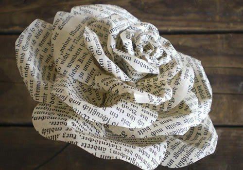 Aprenda a fazer um lindo buquê de papel (Foto:Divulgação).