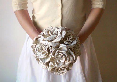 Como fazer um buquê de flores de papel (Foto:Divulgação).