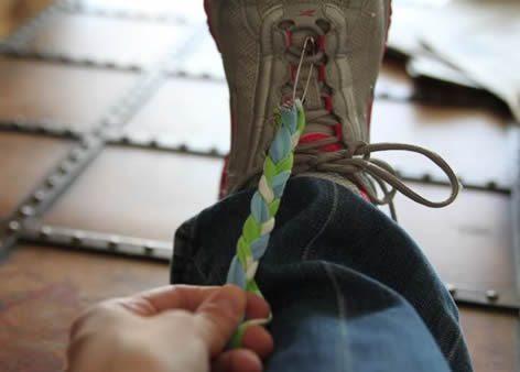 Passo a passo pulseira em tecido (Foto:Divulgação).