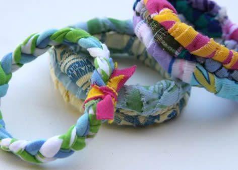 Como fazer uma pulseira de tecido (Foto:Divulgação).