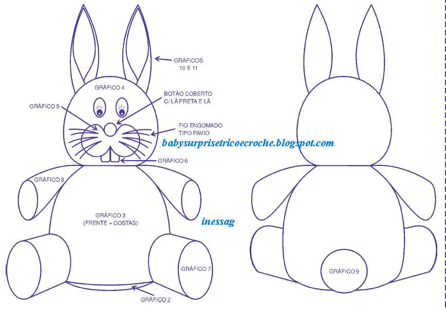 Molde de coelho (Foto:Divulgação)