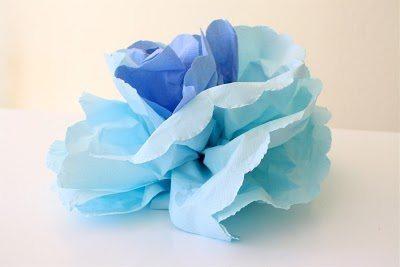 Como montar flor de guardanapo decoração Flor de guardanapo de papel passo a passo