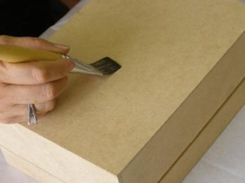 Modelo de decoupage com textura (Foto:Divulgação).