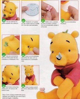 Urso Pooh de Biscuit (Foto:Divulgação).