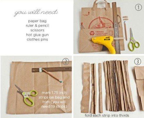 Como fazer cesta de papel (Foto:Divulgação).