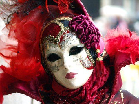 Máscara para carnaval (Foto:Divulgação).
