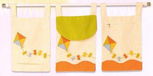 Artesanato De Unicórnio ~ Como fazer porta treco de tecido para quarto de beb u00ea Artesanato Passo a Passo!
