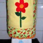 Capa para galão em tecido (Foto:Divulgação)