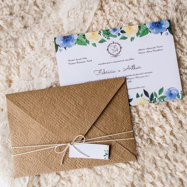 envelope casamento