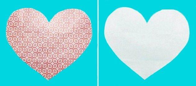 Passo a passo envelope de coração  (Foto:Divulgação)
