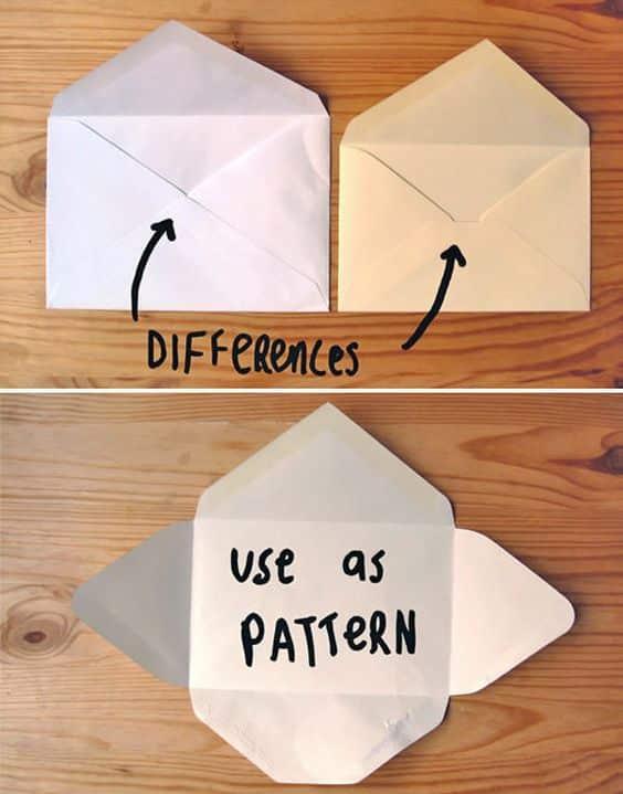 envelope de papel