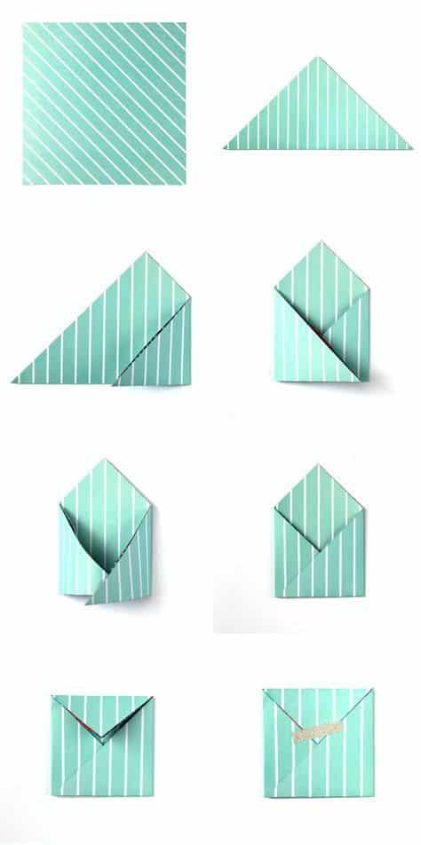 envelope listrado
