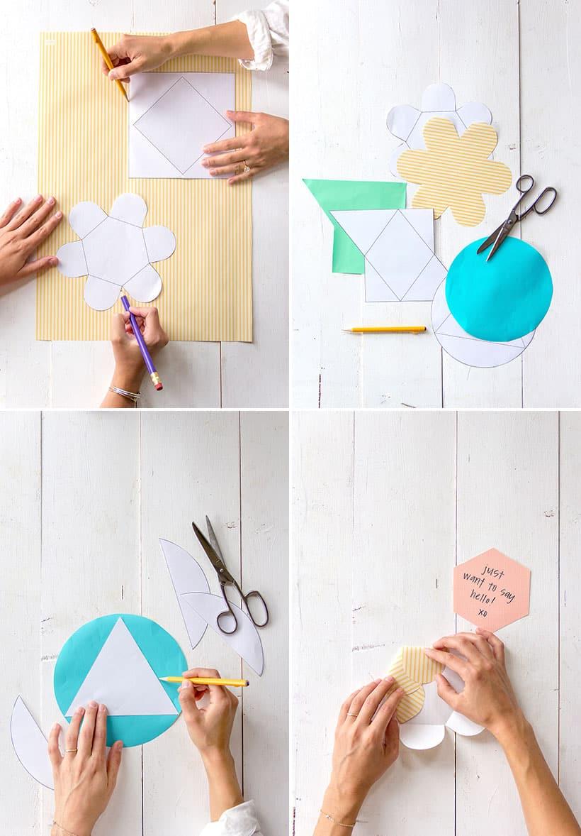 modelos diferentes de envelopes