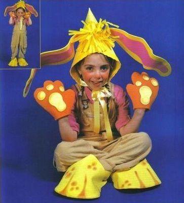 Faça uma fantasia de coelho da Páscoa para suas crianças e receba muitos elogios (Foto: Divulgação)