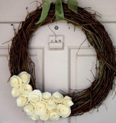 A guirlanda para dia das mães pode servir tanto como objeto de decoração quanto como presente (Foto: Divulgação)