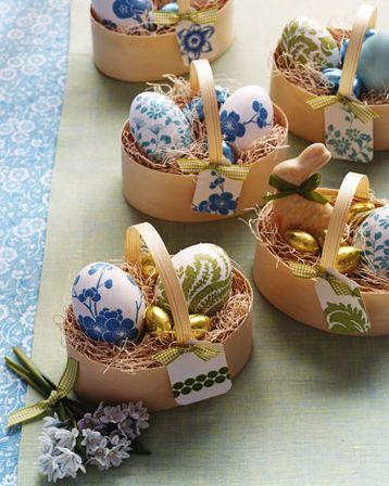 Aposte em decoupage de Páscoa em ovos de galinha para deixar sua Páscoa ainda mais especial (Foto: Divulgação)