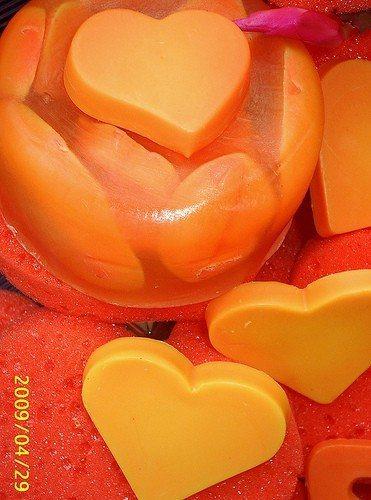 Sabonete artesanal para o dia das mães (Foto:Divulgação)