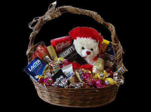Faça você mesma uma cesta de bombons para dia das mães e receba muitos elogios (Foto: Divulgação)