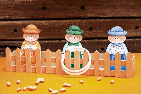 Os bonecos para festa junina enfeitarão ainda mais a sua festa (Foto: Divulgação)