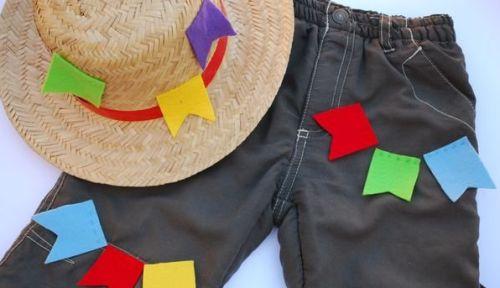 Customizar roupa junina é muito fácil e rápido (Foto: Divulgação)