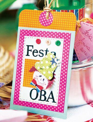 O convite artesanal para festa junina é muito simpático e deixará sua festa ainda mais requisitada (Foto: Divulgação)