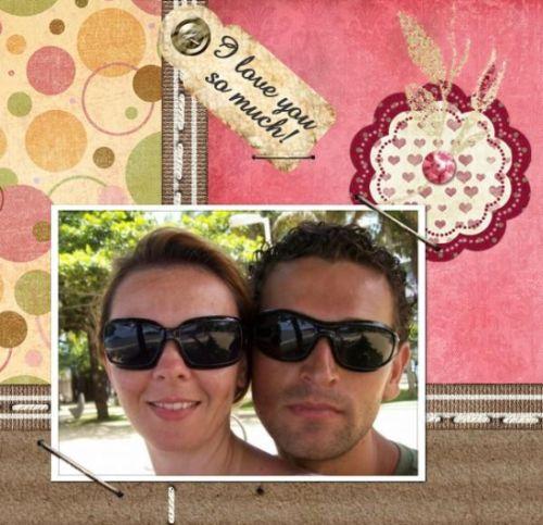 O scrapbooking digital para o dia dos namorados é ótima opção de presente (Foto: Divulgação)