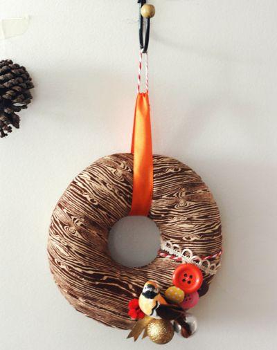 A guirlanda de pano pode enfeitar a sua casa o ano todo, basta você fazer uma para cada data comemorativa (Foto: Divulgação)