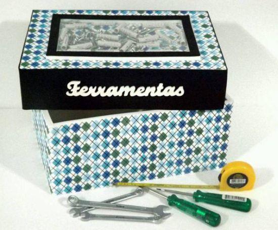"""Caixa de ferramenta para dia dos pais é um presente útil e que agradará em cheio os pais """"faz-tudo"""" (Foto: Divulgação)"""