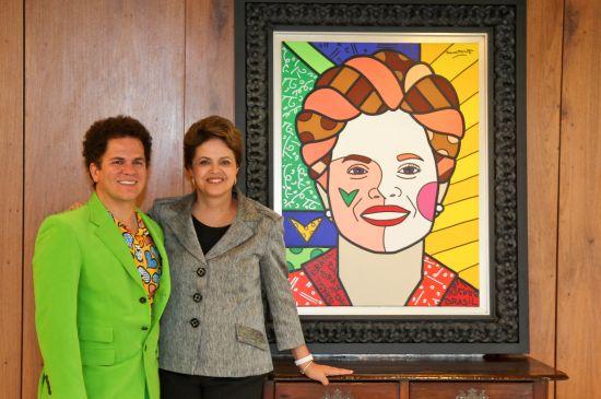 A sua estampa inspirada nas obras de Romero Britto pode decorar qualquer objeto (Foto: Divulgação)