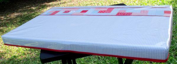 Este trocador de fralda é muito fácil de ser feito e fica lindo (Foto: Divulgação)