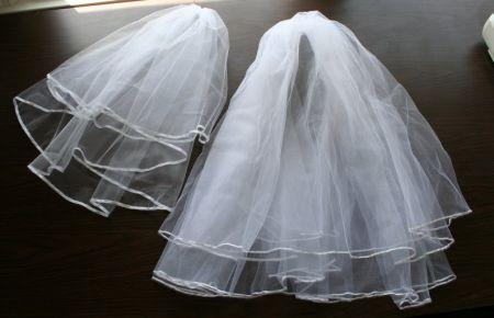 Este lindo véu de noiva é fácil de ser feito e você irá ficar linda em seu grande dia (Foto: Divulgação)