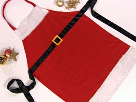Este avental natalino é ótima opção também para presentear (Foto: Divulgação)