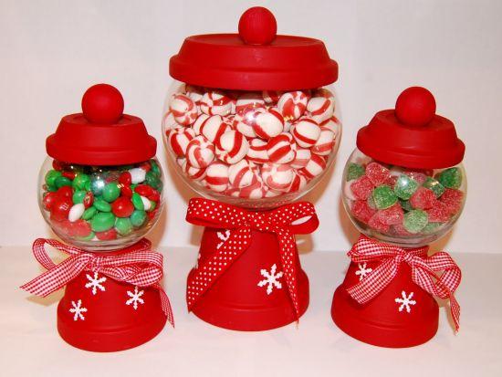 Estes baleiros de Natal também são ótimas opções para presente ou para ganhar uma renda extra (Foto: Divulgação)