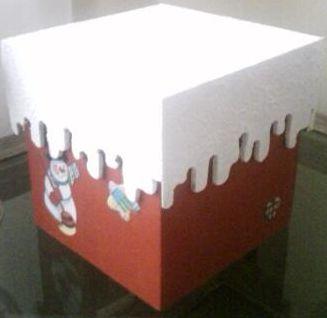 Esta caixa de minipanetone é uma ótima opção de presente, e para todas as idades (Foto: Divulgação)