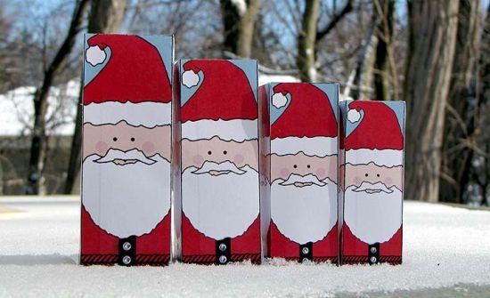 Fotos Simpaticas De Papa Noel.Caixa De Papai Noel Passo A Passo Artesanato Passo A Passo