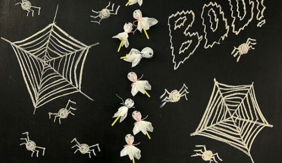 Estes pirulitos decorados para Halloween irão fazer o maior sucesso em sua festa (Foto: Divulgação)