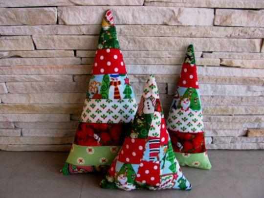 Esta almofada de Natal pode ser posicionada me qualquer cantinho de sua casa (Foto: Divulgação)