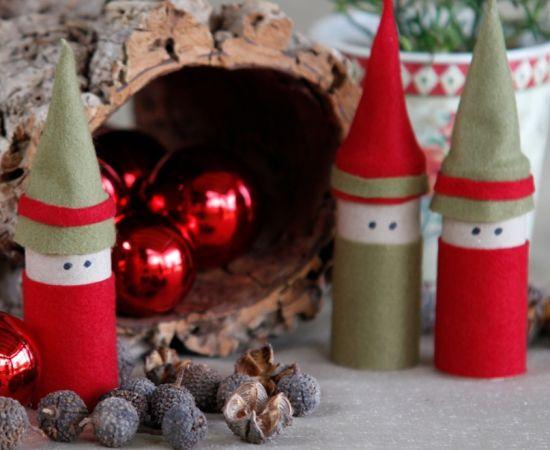 Este duende de Natal também pode ser feito em sala de aula, com seus alunos (Foto: Divulgação)