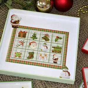 Esta petisqueira de Natal pode ser a salvação do seu orçamento neste final de ano se você fizer várias peças e vender (Foto: Divulgação)
